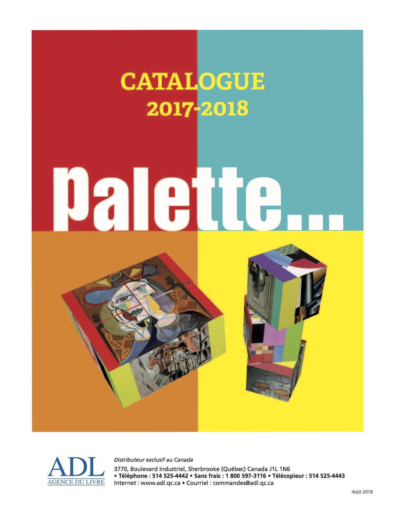 Catalogue palette